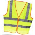 Chaleco de seguridad de alta visibilidad con cinta de cristal