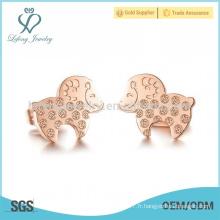 Boucles d'oreilles mignonnes moutons, boucles d'oreille pour filles