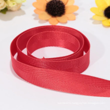 Eco-friendly wide red ribbon, nylon ribbon supply