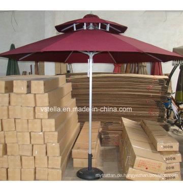 Outdoor Patio UV-resistenten Garten Regenschirm Stoff Sunbrella