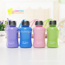 New Hot-sale colorful BPA free lovely Plastic water bottle