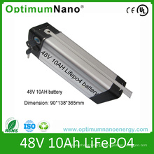 E-Bike 48V 10ah LiFePO4 Battery Pack