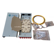 12 Cores SC / FC Wandmontierte Fiber Terminal Box