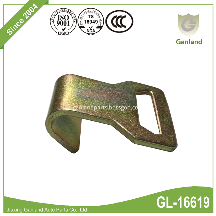 Hook With Abrasion Clip GL-16619