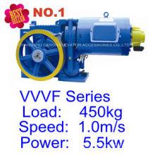 Máquina de tracción Motor VVVF YJF120WL Villa pasajero elevador