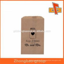 china supplier wholesale kraft paper material greaseproof packaging for fries