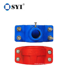 High Quality Durable PE Pipe Fittings 20mm 160mm PN16 HDPE Pipe Saddle Clamp