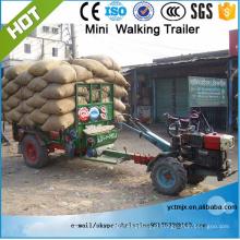 Melhor venda de trator agrícola único eixo derrubando reboque 7CX-1.5