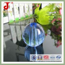 Bola de cristal azul com furo (JD-CB-100)