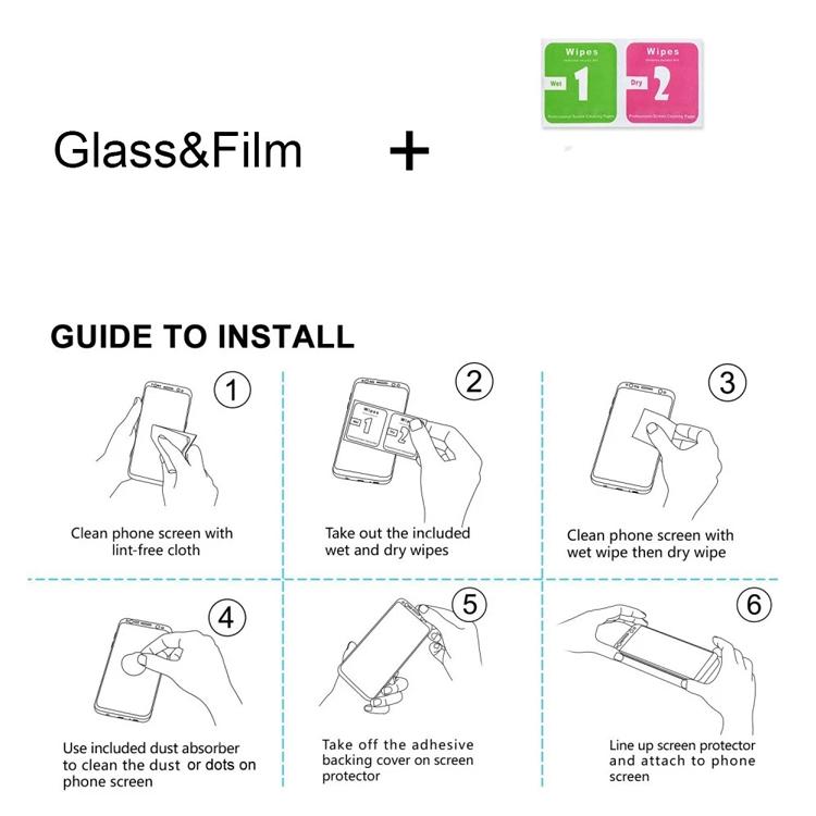 Film Install Steps.
