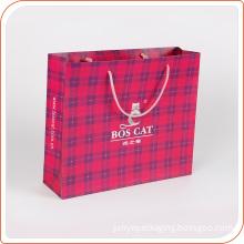 Eco-Friendly Paper Custom Printing Glossy Laminated Paper Shopping Bag