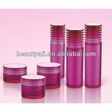 Forma de obturación de lujo cosméticos acrílico jarra