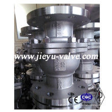 DIN Ss316 / CF8m Flange Válvula de esfera Pn16 Dn80