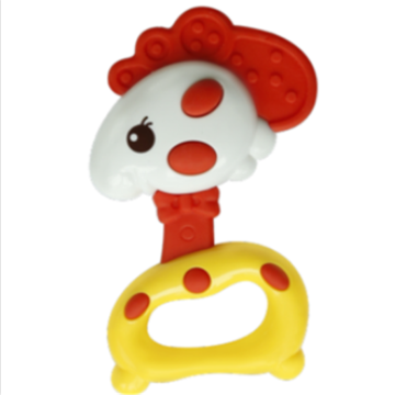 Chick Shape Baby Safety Music Toy Ring Bell