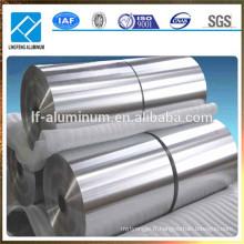 Feuille d'aluminium de qualité pour l'emballage flexible, pour l'emballage du chocolat, pour l'emballage du beurre, pour le sac de yogourt