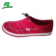 Zapato de lycra vulcanizado plano vendedor caliente de la manera para la mujer