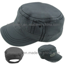 Bequeme Baumwollgewebe Military Work Cap Hat (TMM000489-1)