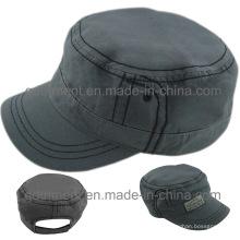 Удобная хлопчатобумажная ткань военного Cap Hat (TMM000489-1)