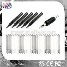 CE-zertifiziert Großhandel Einweg-Rohr Griffe und Tattoo-Nadeln