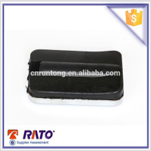 Chrome plated motorcycle footrest rubber for universal