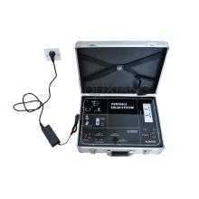 maleta Kit de generador de energía solar portátil para sistema de energía del hogar de luz TV