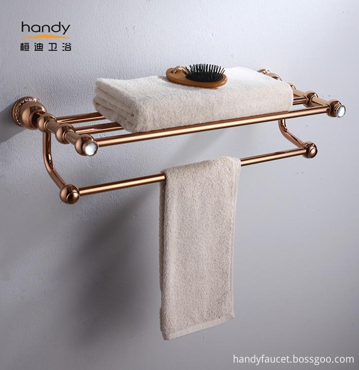 Brass towel Shelf