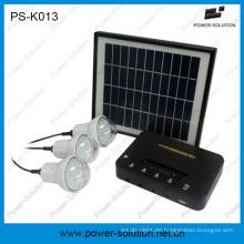 Lithium Power Solarhaus Beleuchtungssystem mit mobiles Ladegerät
