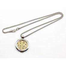 Hot vendendo alta qualidade 316L em aço inoxidável Locket colar de pingente de moda