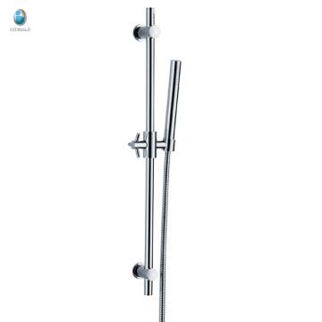 KL-05 china al por mayor de latón baño de ducha de mano multifuncional termostática elevación conjunto de ducha