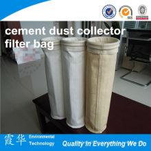 Telas industriales bolsa de filtro de colector de polvo de cemento