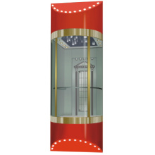 Elevator Decoration , Stainless Steel Hairline Panel Car Wall