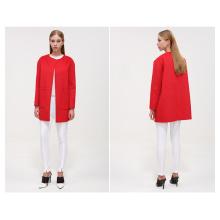 2016 European Fashion Women Winter Wool Long Women Coat Cardigan Wholesale
