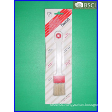 Spb-008 White Bristle Plastic Pastry Brush