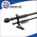 High-quality telescopic metal Double curtain rod,paint ball bullets,Classic Ball Curtain Rod