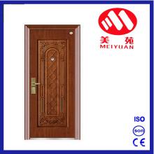 Haojun UV-Proof Copper Paint Steel Doors Single Door Leaf