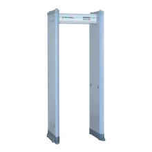 Barra de alarme do diodo emissor de luz infravermelho dobro da segurança inteligente através do detetor de metal