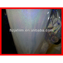 transparent pet holographic film