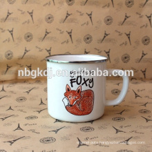 enamel wholesale mug cup & new product beautiful design