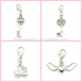 Meaningful alloy stainless steel dangle charms,wholesale cheap dangle for floating charm locket