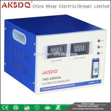 Régulateur de tension CAV 220V à courant alternatif à une seule phase à haute précision SVC de Yueqing Factory