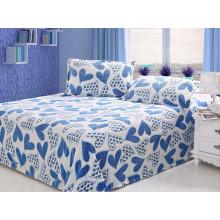 2015 New Coral Fleece Carved Bedding Set