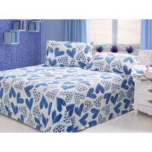2015 Novo tecido de cama esculpida Fleece coral