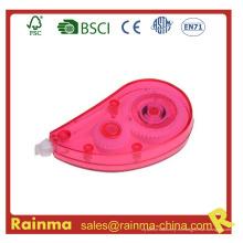 Cinta de corrección de color rosa para regalo promocional