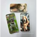 Etiqueta engomada lenticular decorativa del teléfono del diseño 3D