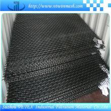Malla de alambre prensada en acero inoxidable 316