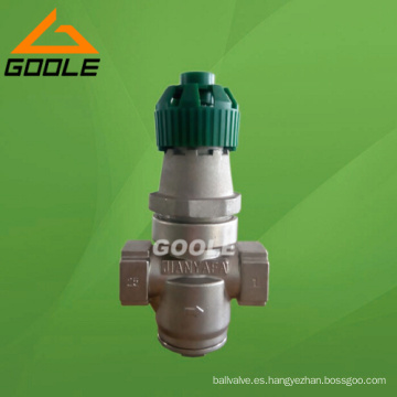 Válvula reductora de presión de fuelle de acción directa (Y14H / F-GVPR05)