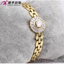 Xuping pulseira de moda de ouro 14k (73603)