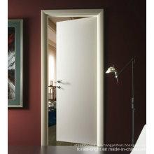 China Pintura blanca presionó la puerta interior de madera