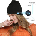Knitted Beanie Hat Wireless Headset with Mic