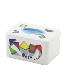 Прямоугольный пластиковый корпус для ткани (FF-5073-2)
